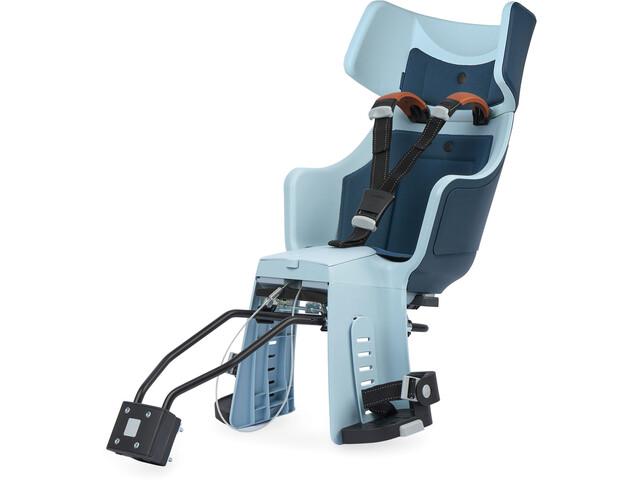 bobike Exclusive Tour Maxi Kindersitz inkl. 1P-Bügel und Gepäckträgerhalterung denim deluxe